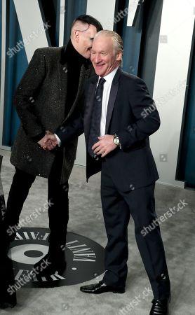 Marilyn Manson and Bill Maher