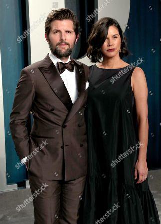 Stock Picture of Adam Scott and Naomi Scott
