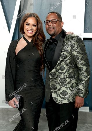Stock Picture of Roberta Moradfar and Martin Lawrence