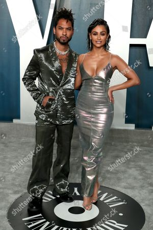 Stock Picture of Miguel and Nazanin Mandi