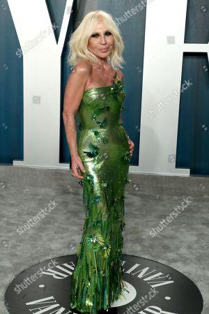 Stock Photo of Donatella Versace