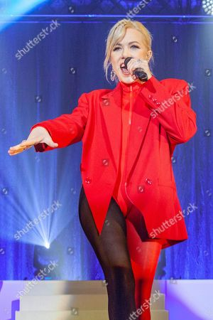 Editorial picture of Carly Rae Jepson in concert at Victoria Warehouse, Manchester, UK - 07 Feb 2020