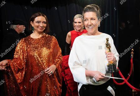 Maya Rudolph, Kristen Wiig and Jacqueline Durran
