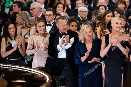 Penelope Cruz, Rita Wilson, Tom Hanks and Charlize Theron