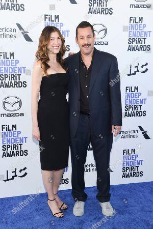 Jackie Sandler and Adam Sandler