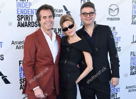 Rupert Goold, Renee Zellweger and David Livingstone