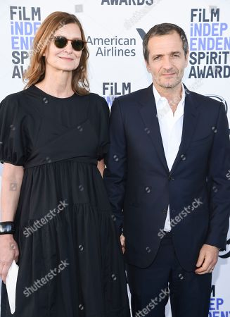 Rose Uniacke and David Heyman