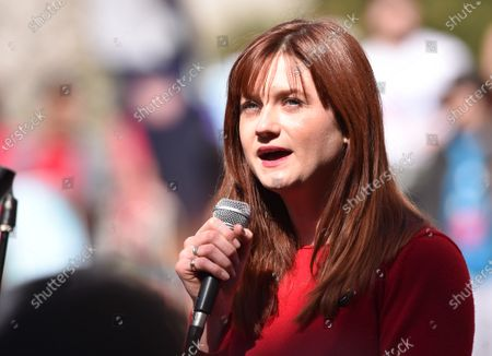 Stock Picture of Bonnie Wright