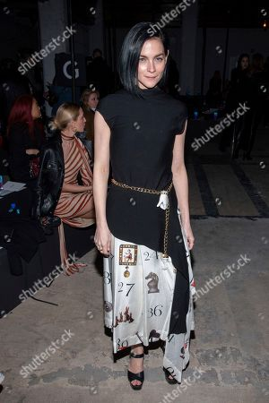 Leigh Lezark attends the Monse fashion show at 30 Wall Street during NYFW Fall/Winter 2020 on in New York