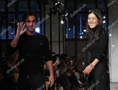 Editorial image of MONSE - Runway - New York Fashion Week Fall Winter, USA - 07 Feb 2020