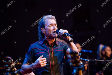 Peter Maffay performs during the SemperOpernball 2020 in the Semperoper Opera House in Dresden, Germany, 07 February 2020. The annual event, now in its fifteenth year, is held under the motto 'Rushing like a fairy tale - Dresden celebrates'.