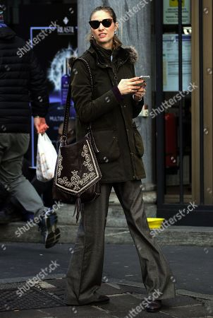 Editorial picture of Beatrice Borromeo out and about, Milan, Italy - 07 Dec 2019