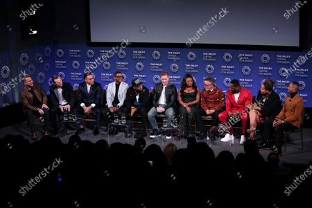 Mike Dopud, Shane Johnson, Rotimi, Larenz Tate, Michael Rainey Jr, Joseph Sikora, Naturi Naughton, Mark Canton, 50 Cent, Courtney A Kemp and Terrence J