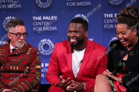 Mark Canton, 50 Cent and Courtney A Kemp