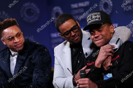 Rotimi, Larenz Tate and Michael Rainey Jr.