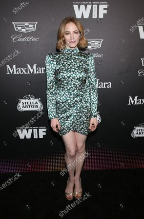 Editorial image of 13th Annual Women in Film Oscar Party Celebration, Arrivals, Sunset Room, Los Angeles, USA - 07 Feb 2020