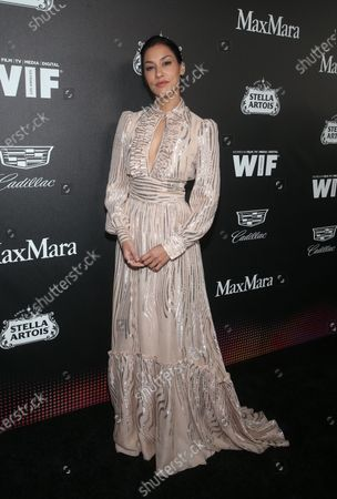 Editorial photo of 13th Annual Women in Film Oscar Party Celebration, Arrivals, Sunset Room, Los Angeles, USA - 07 Feb 2020
