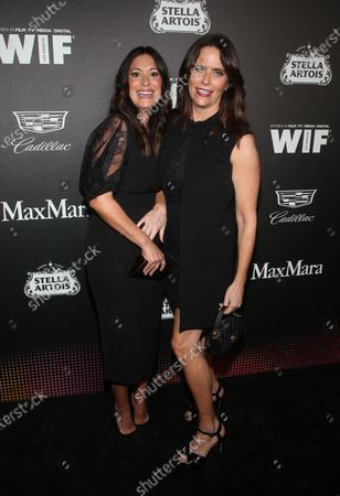Stock Picture of Amy Landecker, Angelique Cabral