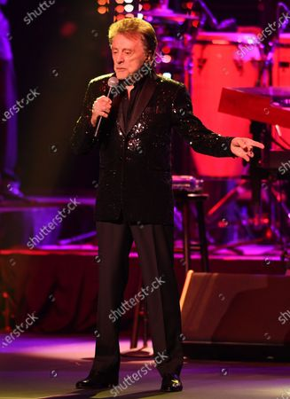 Editorial photo of Frankie Valli in concert at the Hard Rock Live, Seminole Hard Rock Hotel and Casino, Hollywood, Florida, USA - 07 Feb 2020