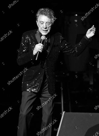 Editorial image of Frankie Valli in concert at the Hard Rock Live, Seminole Hard Rock Hotel and Casino, Hollywood, Florida, USA - 07 Feb 2020