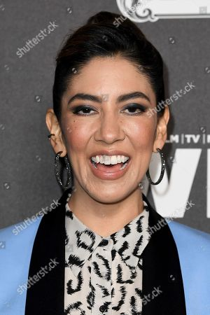 Stephanie Beatriz attends the 13th Annual Women In Film Female Oscar Nominees Party at Sunset Room Hollywood, in Los Angeles