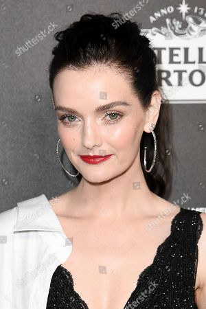 Lydia Hearst-Shaw attends the 13th Annual Women In Film Female Oscar Nominees Party at Sunset Room Hollywood, in Los Angeles