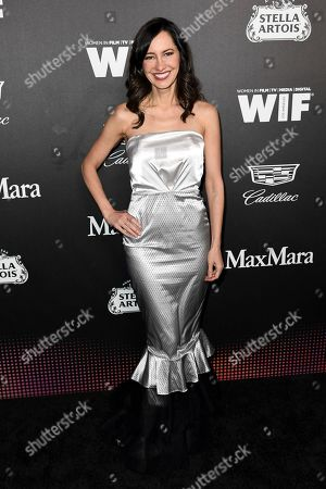Stock Image of Charlene Amoia attends the 13th Annual Women In Film Female Oscar Nominees Party at Sunset Room Hollywood, in Los Angeles