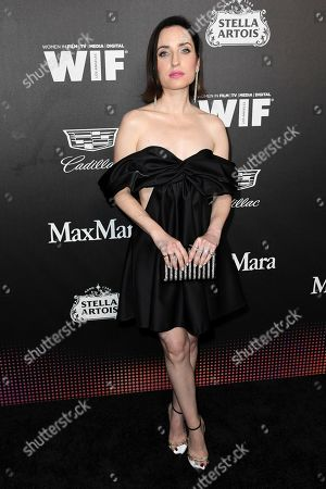 Zoe Lister Jones attends the 13th Annual Women In Film Female Oscar Nominees Party at Sunset Room Hollywood, in Los Angeles