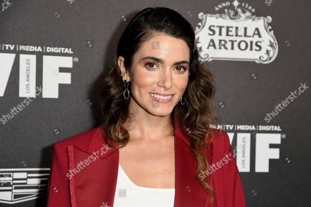 Nikki Reed attends the 13th Annual Women In Film Female Oscar Nominees Party at Sunset Room Hollywood, in Los Angeles
