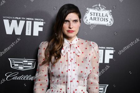 Stock Picture of Lake Bell attends the 13th Annual Women In Film Female Oscar Nominees Party at Sunset Room Hollywood, in Los Angeles