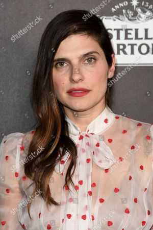 Lake Bell attends the 13th Annual Women In Film Female Oscar Nominees Party at Sunset Room Hollywood, in Los Angeles