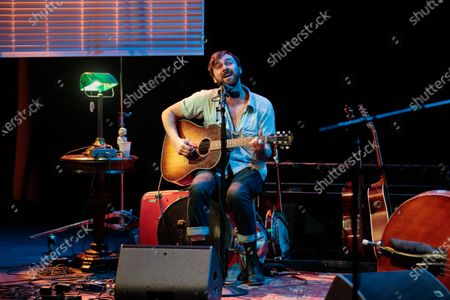 Editorial image of Shakey Graves in concert at Stateside at the Paramount, Austin, Texas, USA - 07 Feb 2020