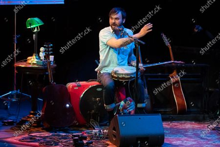 Editorial picture of Shakey Graves in concert at Stateside at the Paramount, Austin, Texas, USA - 07 Feb 2020