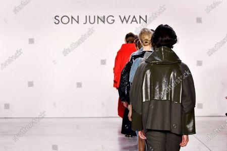 Editorial photo of Son Jung Wan show, Runway, Fall Winter 2020, New York Fashion Week, USA - 07 Feb 2020