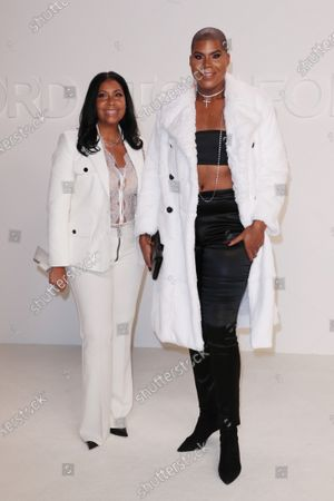 Cookie Johnson and EJ Johnson
