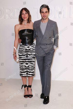 Stock Image of Gia Coppola and Zac Posen