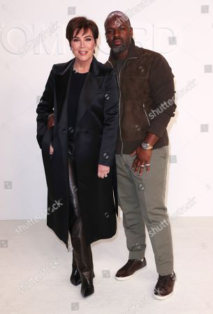 Stock Picture of Kris Jenner and Corey Gamble