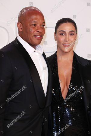 Dr Dre and Nicole Threatt