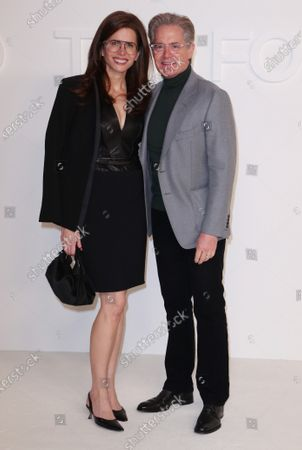 Stock Picture of Desiree Gruber and Kyle Maclachlan