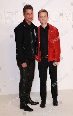 Stock Picture of Rob Lowe and John Owen Lowe