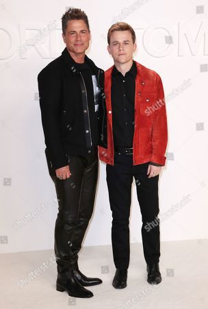 Editorial picture of Tom Ford show, Arrivals, Fall Winter 2020, Milk Studios, Los Angeles, USA - 07 Feb 2020