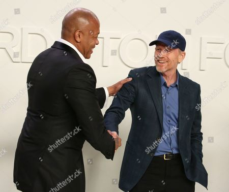 Dr. Dre and Ron Howard