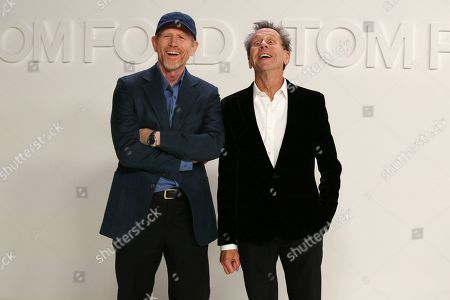 Stock Picture of Ron Howard and Brian Grazer