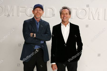 Stock Photo of Ron Howard and Brian Grazer