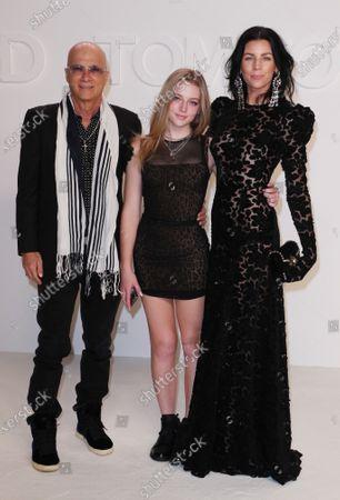 Stock Photo of Jimmy Iovine, Liberty Ross and Skyla Sanders