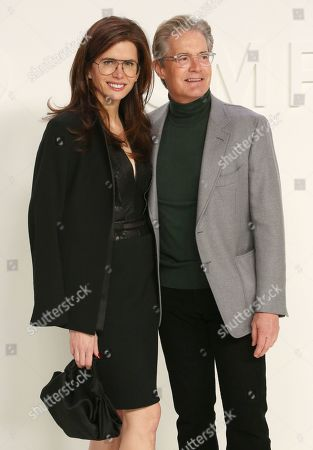 Stock Image of Desiree Gruber and Kyle Maclachlan