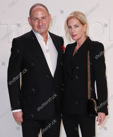 Stock Image of John Demsey and Priscilla Phillips