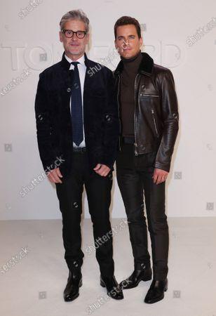 Simon Halls and Matt Bomer