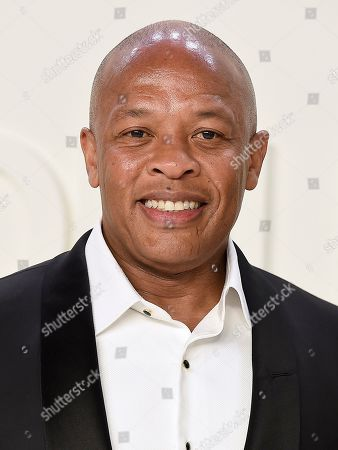 Dr. Dre attends the Tom Ford show at Milk Studios during NYFW Fall/Winter 2020, in Los Angeles