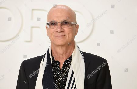 Jimmy Iovine attends the Tom Ford show at Milk Studios during NYFW Fall/Winter 2020, in Los Angeles
